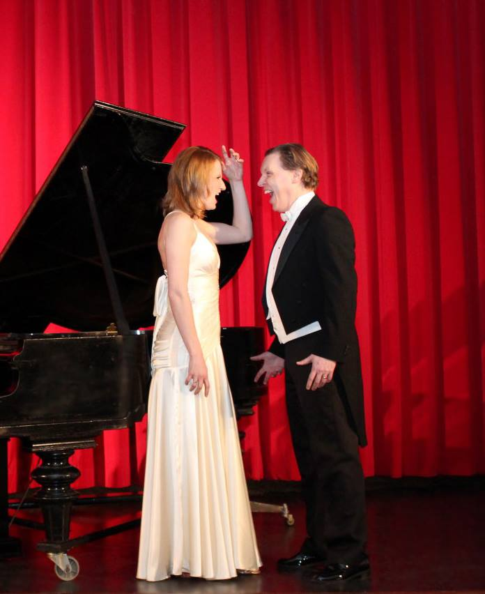 ulie Wyma Furlong, Peter Furlong, in concert. 2015 (Photo credit unknown)