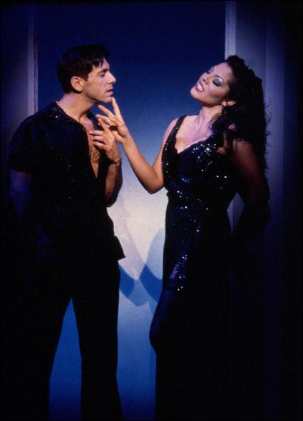 Arizona Theatre Company. 1999. The Gershwins' Fascinating Rhythm. Michael Berresse and Sara Ramirez. Photographer not credited.