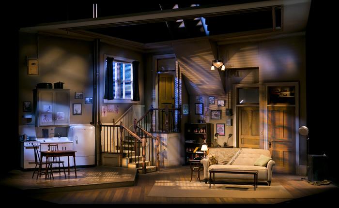 Arizona Theatre Company. 2014. Wait Until Dark. The set.