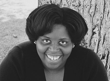 Larissa Brewington, distinguished playwright and actress.