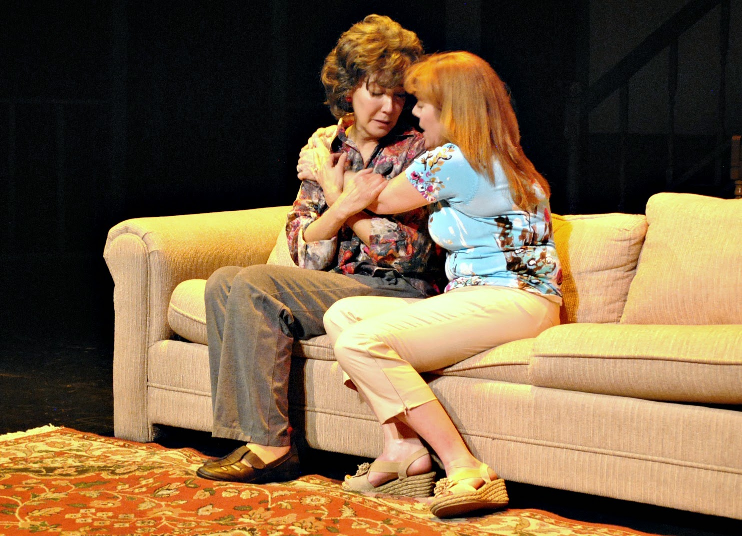 Phillip Fazio directed Shari Watts and Christi Sweeney in 'August: Osage County' at Mesa Encore Theatre.