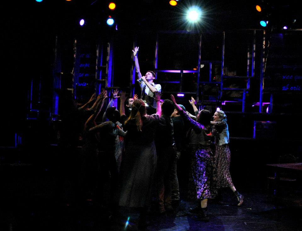 A production shot from Phillip Fazio's production of ''Spring Awakening'' for Mesa Encore Theatre. Photo courtesy of www.phillipfazio.com