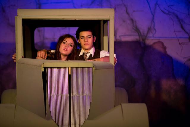Adyson Nichols & Joey Grado are Bonnie & Clude (Photo Lisa Webb, Southwest Shots Photography)