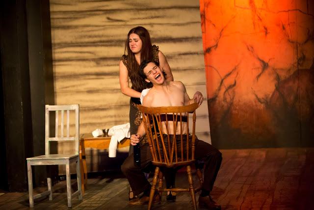 Actors Youth Theatre. 2015. Bonnie & Clyde. Adyson Nichols. (Photo by Lisa Webb, Southwest Shots Photography)
