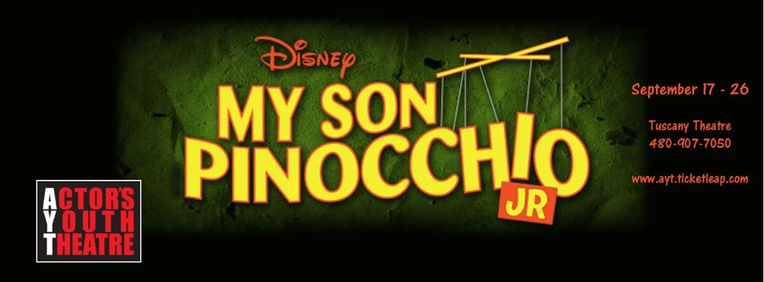 """2015. Actor's Youth Theatre. """"My Son Pinocchio."""""""