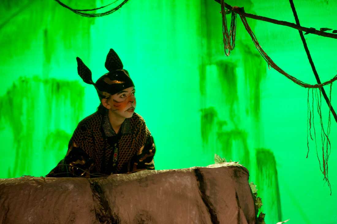 """2015. Clark Jordan in the title role of """"My Son Pinocchio."""" (Photo courtesy of Actor's Youth Theatre)"""