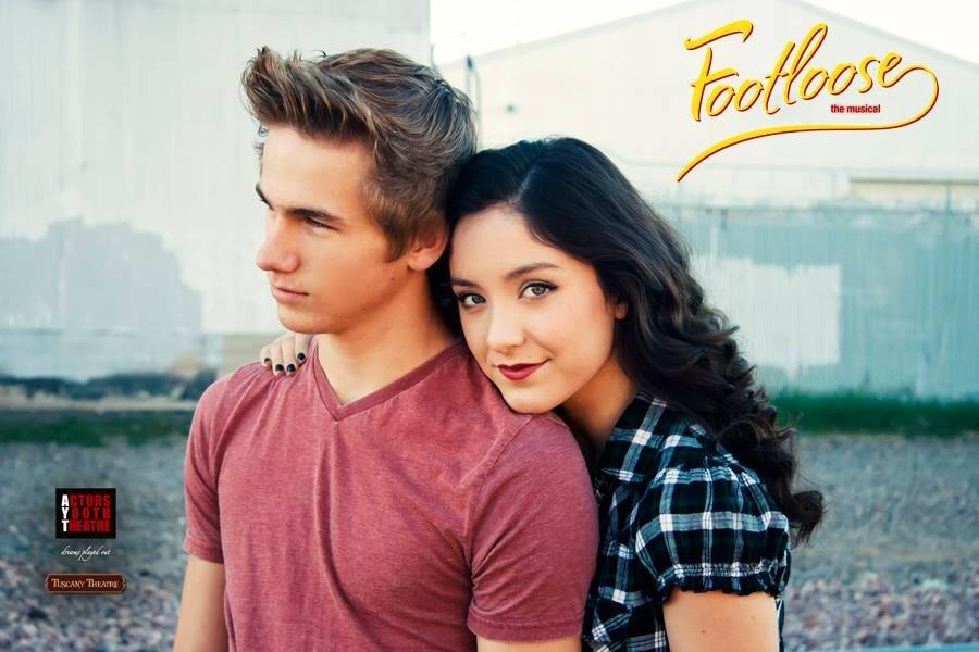 Actors Youth Theatre. 2015. Footloose. Kale Burr and Jessie Jo Pauley (Photo courtesy of the theater)