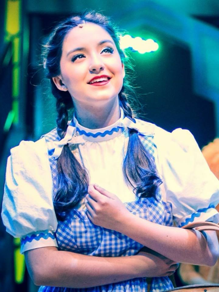 "Jessie Jo Pauley as Dorothy in the 2015 production of ""The Wizard of Oz"" at Hale Centre Theatre. (Photo by Nick Woodward-Shaw)"
