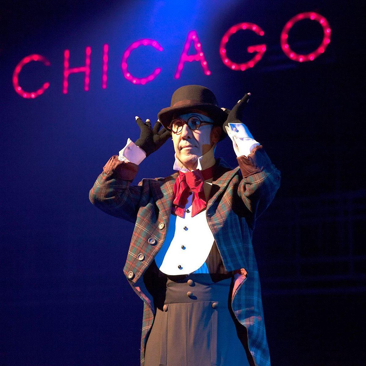 Phoenix Theatre. 2015. Chicago. Brian Runbeck singing 'Mr Cellophane' (Erin Evangeline Photography) 001