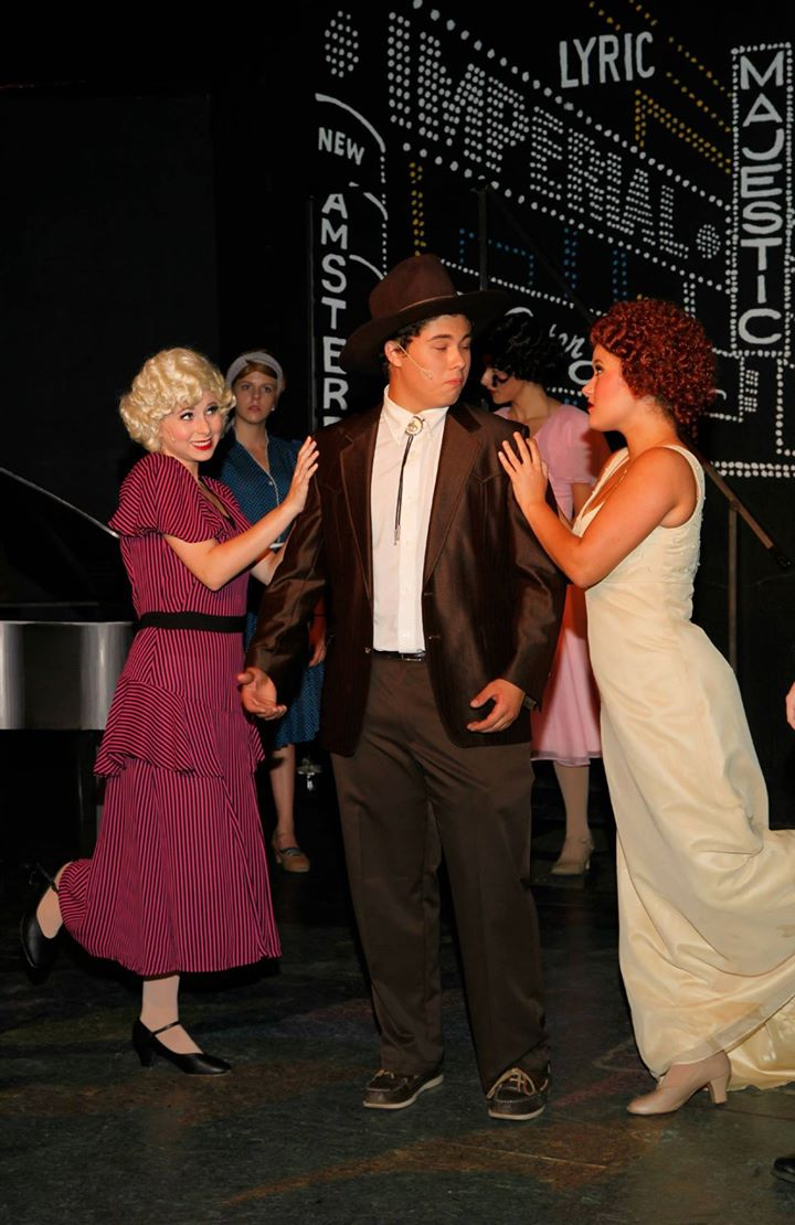 """2015. """"42nd Street."""" Spotlight Youth Theatre. (Photography courtesy of the theater)"""