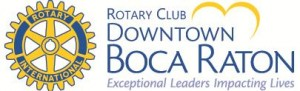 Rotary Downtown Boca Raton Logo