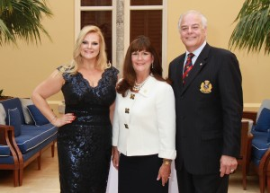 Co-Chair Kari Oeltjen, Honorary Chair Maypr Susan Whelchel and Co-Chair and Rotary Club Downtown Boca Raton President Jon Kaye