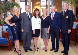 Kari Oeltjen, Palm Beach Commissioner Steven Abrams, Mayor Susan Haynie, Honorable Susan Whelchel, Honorable Bill T. Smith Jr. and Jon Kaye