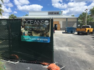 New Oceans234 signage installed showing signs of what's to come at the #NEW234.