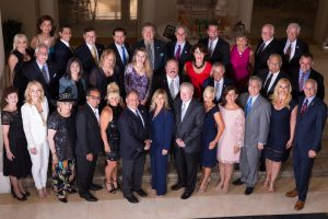 Rotary Club Downtown Boca Raton Mayors Ball Committee, Chairs & Advisors -Not pictured; Honorary Advisor Former Mayor Susan Whelchel; Councilman Jeremy Rodgers, Nizan Mosery and Rosie Iguanzo-Martin