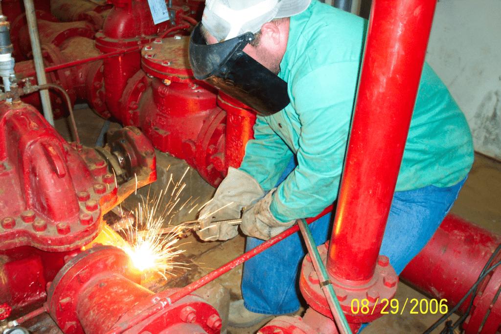 Emergency Worksite Repairing Pump