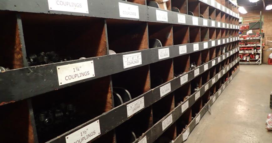 Oliver FPS Engineering Workshop inventory bins