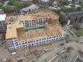 Project building construction site