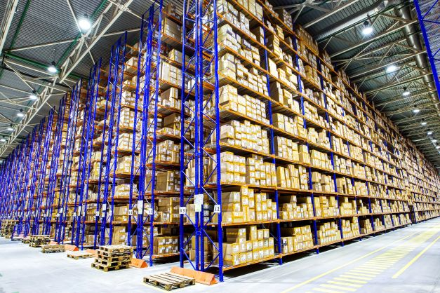 Storage warehouse fire protection