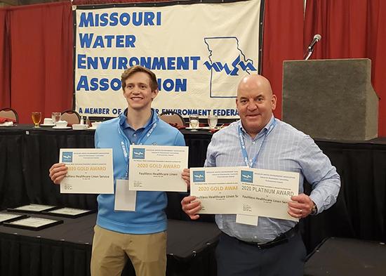 Faultless Healthcare Linen Earns Four Environmental Water Awards