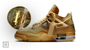 Bitcoin Sneakers, Cryptocurrency entering fashion