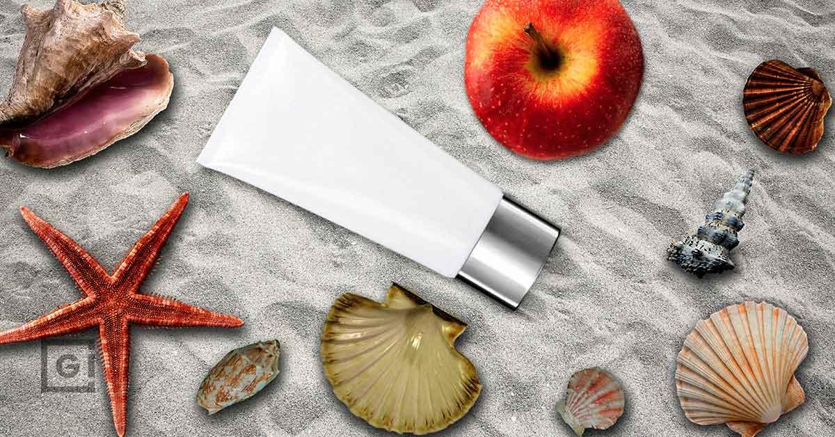 Natural skin care for summer season