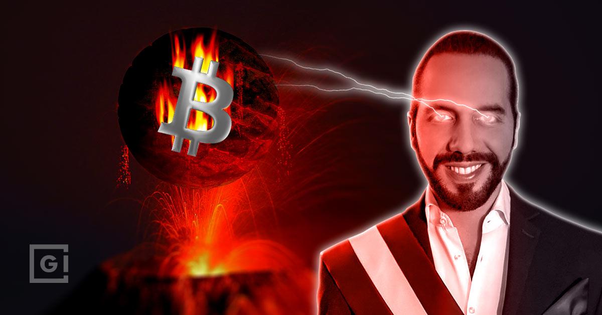 El Salvador mining Bitcoin with volcano power