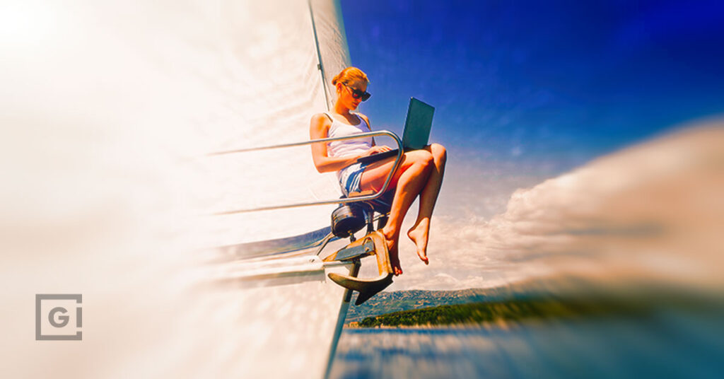 The rise of the workcation