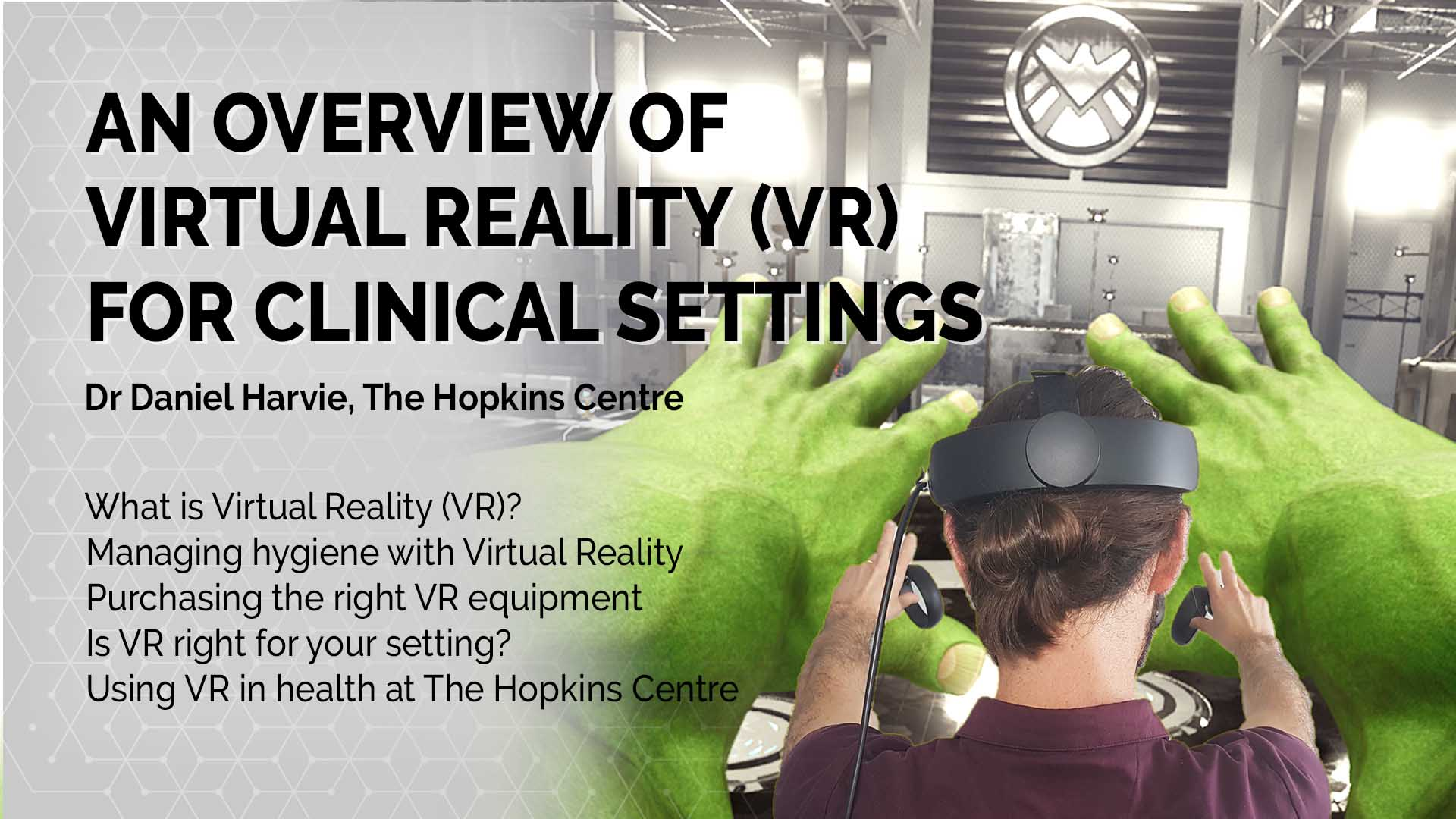 Innovations in VR to transform brain injury rehab