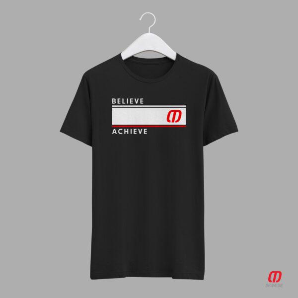 Believe Achieve Unisex Jersey Tshirt