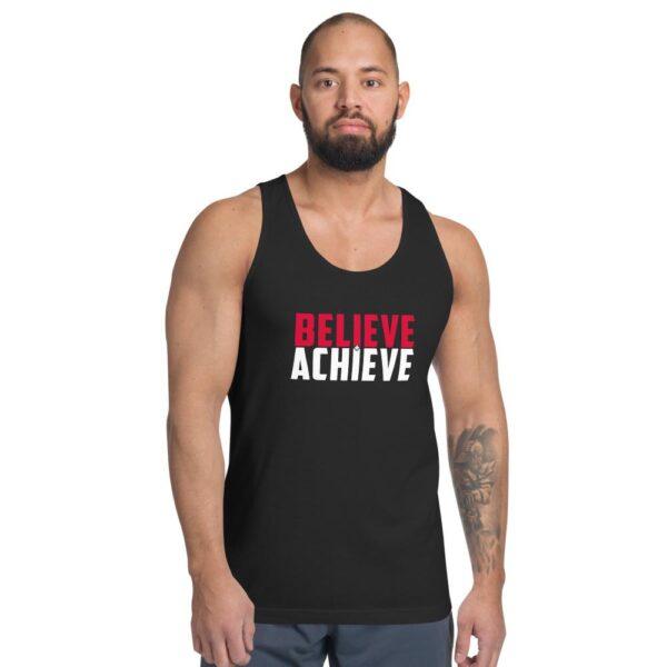 Believe + Achieve Unisex Jersey Tank Top