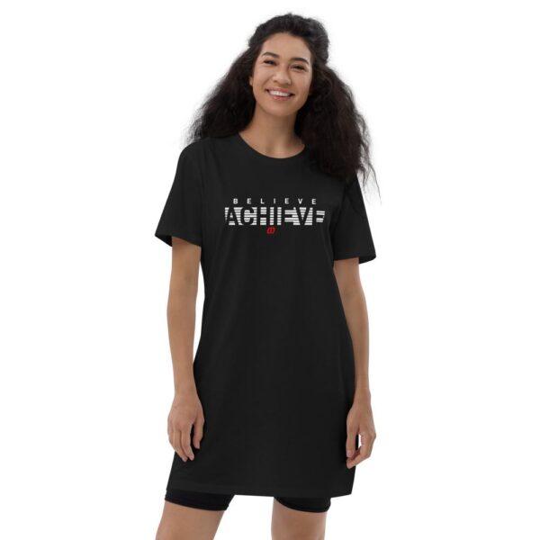 Believe Achieve t-shirt dress