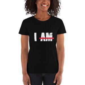 I AM FITNESS Women's short sleeve t-shirt