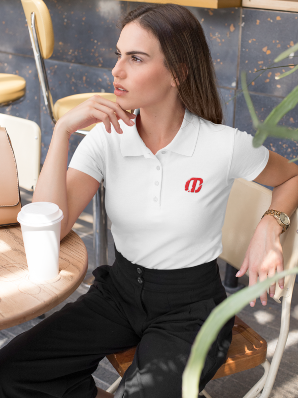 Malone Embroidered Women's Polo Shirt