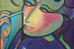 Megan Face Paint