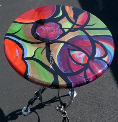 Woven Flower Table