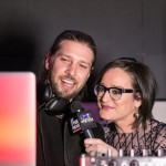 International DJ Ryan Lucero (left) and Kennedy, former MTV VJ, and current host of Kennedy on the Fox Business Network (right), count down the New Year's Eve festivities at The Knickerbocker Hotel. After 95 years since it reopened in February 2015, The Knickerbocker Hotel celebrated its first New Year's celebration. Located at the edge of Times Square, the hotel is rumored to be the birthplace of the Martini.