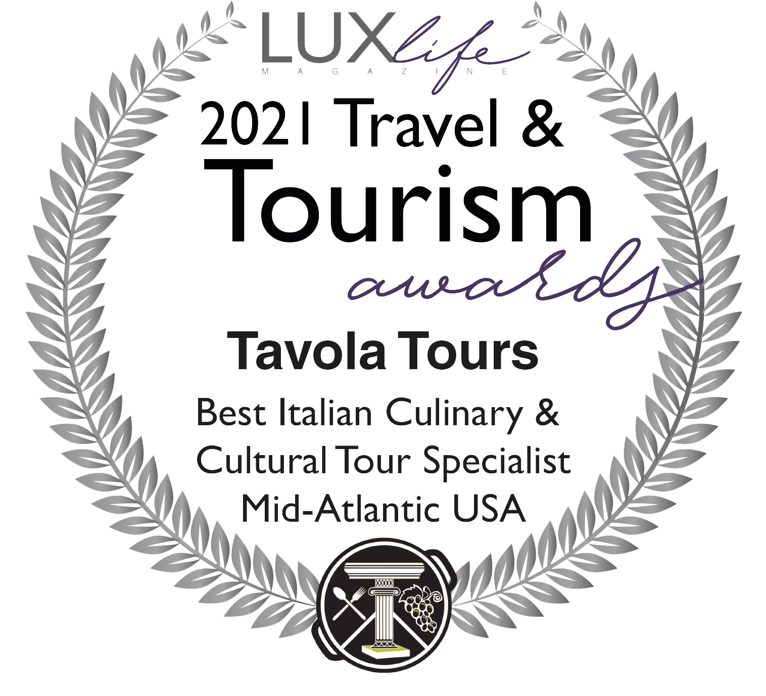 2021 Travel and Tourism Award Winner