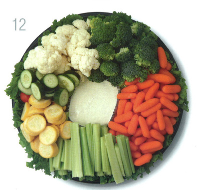 Star Market Vegetable Tray