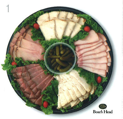 star market all meat deli tray