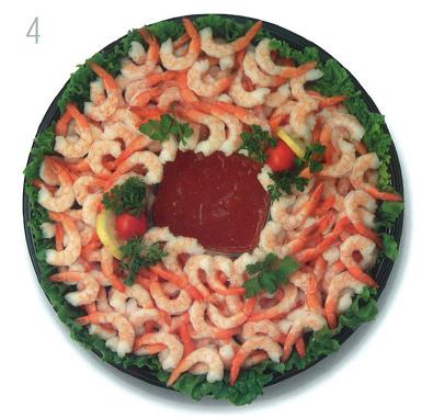 Star Market Shrimp Tray