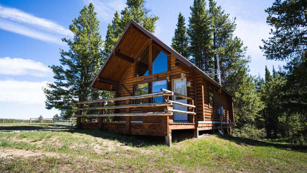 Niner Cabin at Spear-O-Wigwam, Wyoming