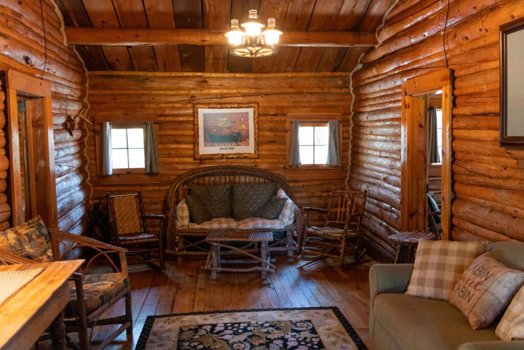 Bear's Den Cabin at Spear-O-Wigwam, Wyoming