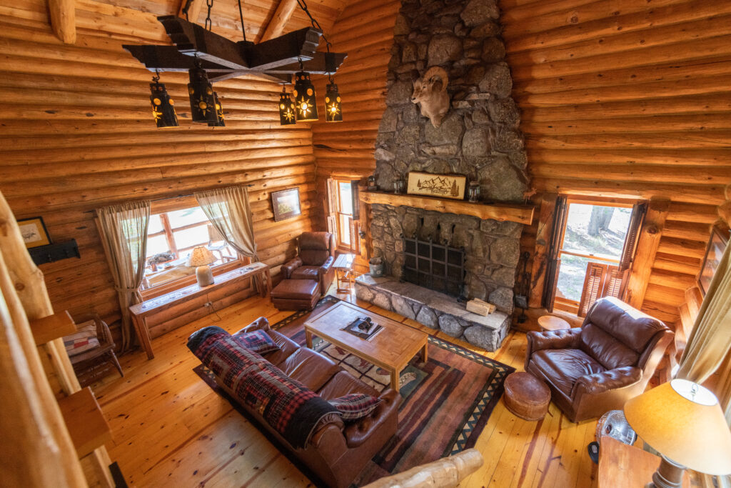 Little Big Horn Cabin at Spear-O-Wigwam, Wyoming