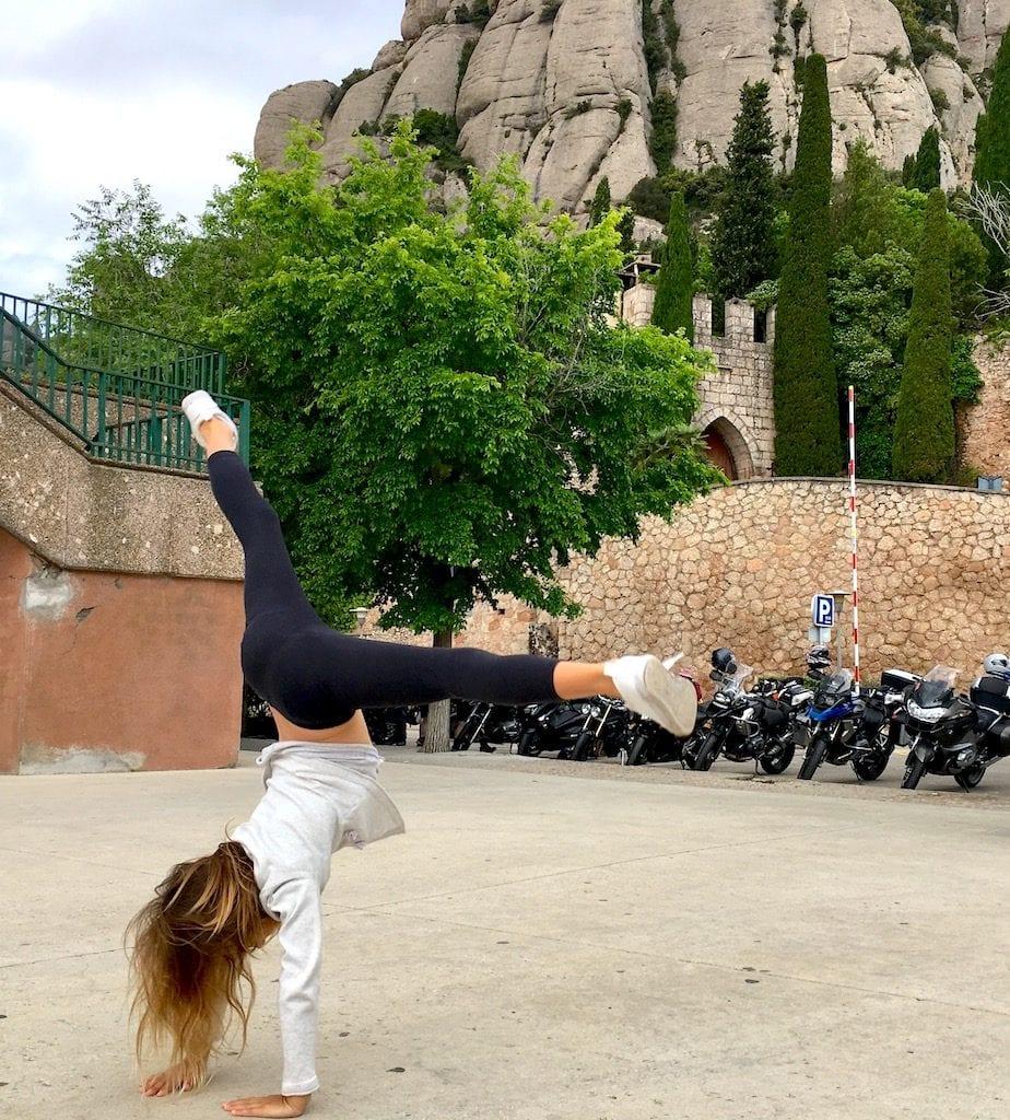 Cartwheels in Montserrat