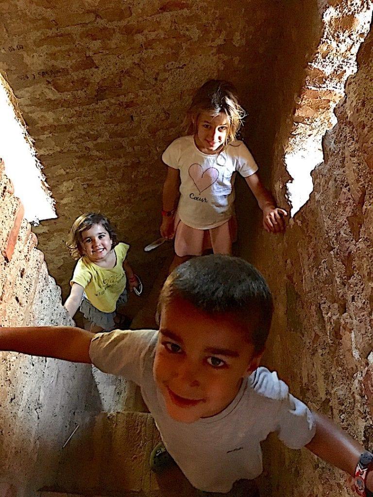 Climb inside Castillo