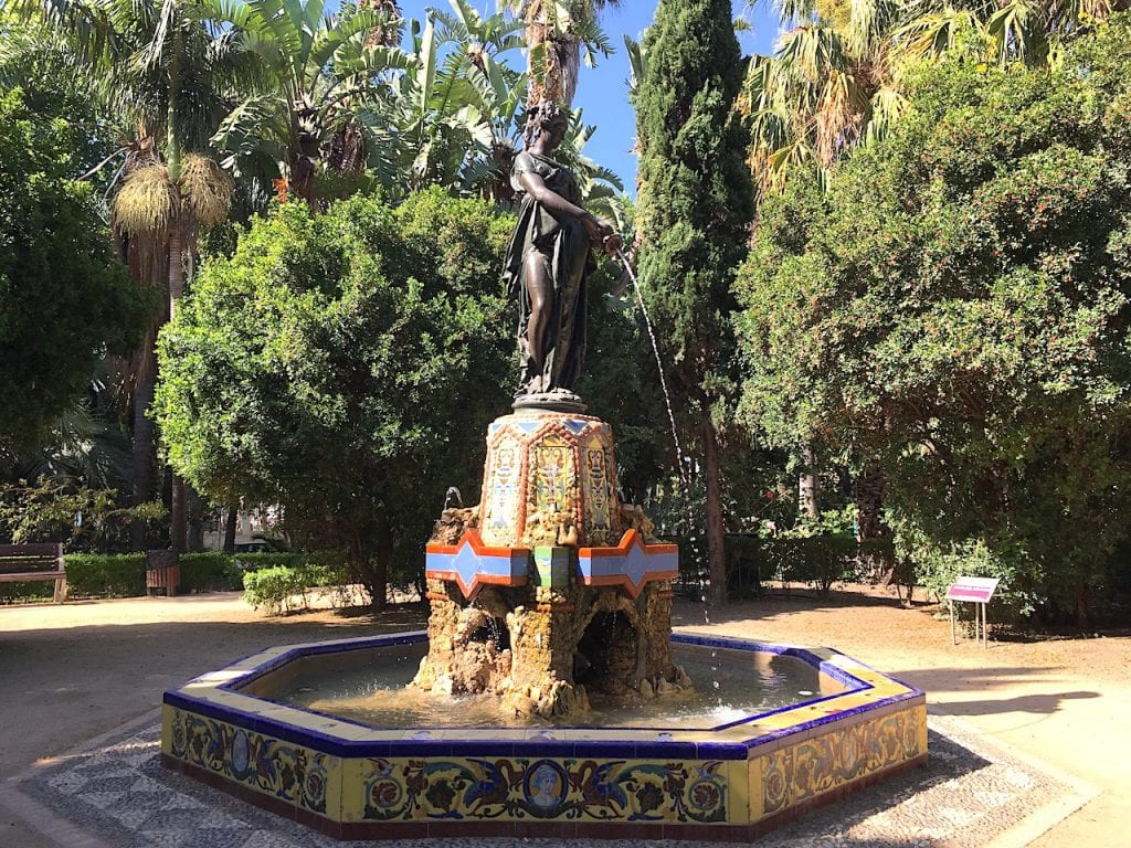 Parque de Malaga Statue