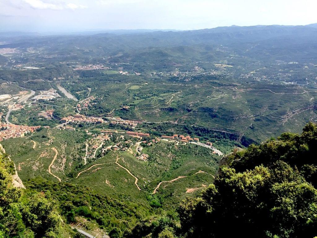 Way to Montserrat