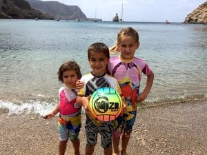 kids in Ibiza