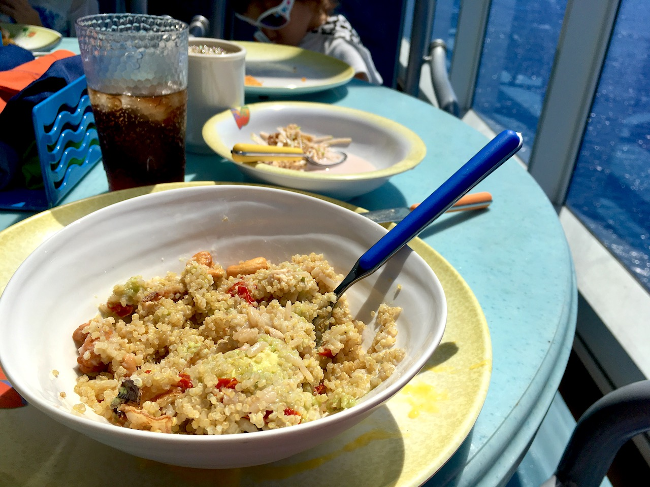 Build a Bowl on Board the Disney Magic offers a great variety of healthy foods to create your own salads!